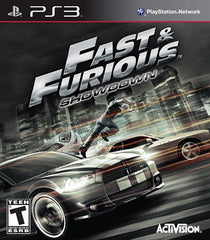 Fast and Furious - Showdown (Bilingual Cover) (PLAYSTATION3)