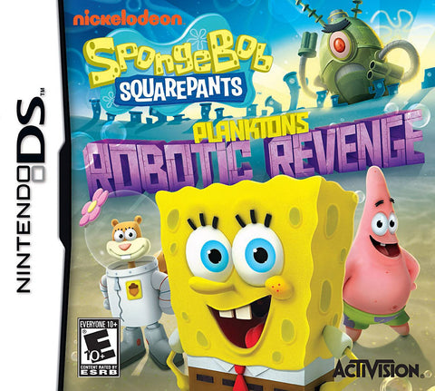 SpongeBob SquarePants - Plankton s Robotic Revenge (Bilingual Cover) (DS) DS Game