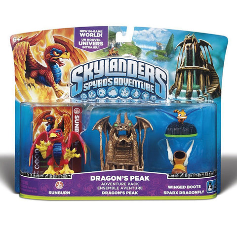 Skylanders Spyro s Adventure Pack - Dragon s Peak (Toy) (TOYS) TOYS Game