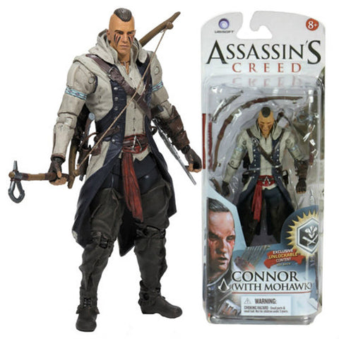 Assassin s Creed Series 2 Action Figure - Connor with Mohawk (Toy) (TOYS) TOYS Game
