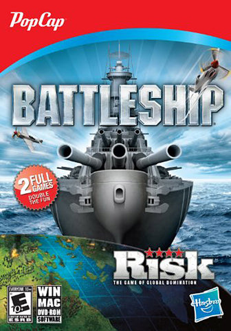 Battleship and Risk (PC) PC Game