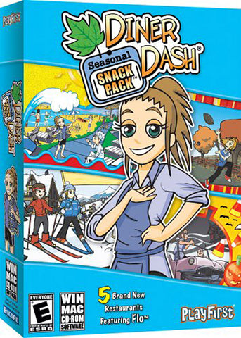 Diner Dash - Seasonal Snack Pack (PC) PC Game