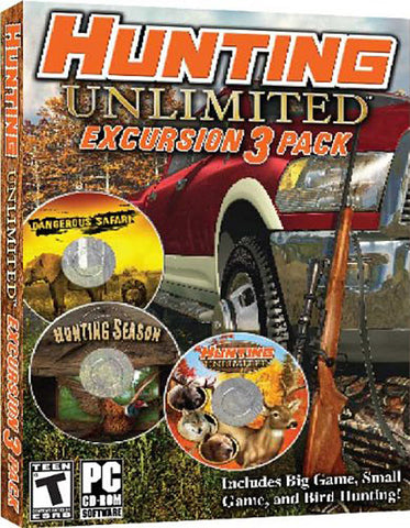 Hunting Unlimited - Excursion 3 Pack (PC) PC Game