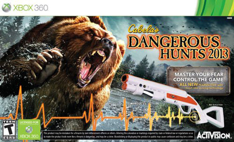 Cabela's Dangerous Hunts 2013 (Bundle) (XBOX360) XBOX360 Game