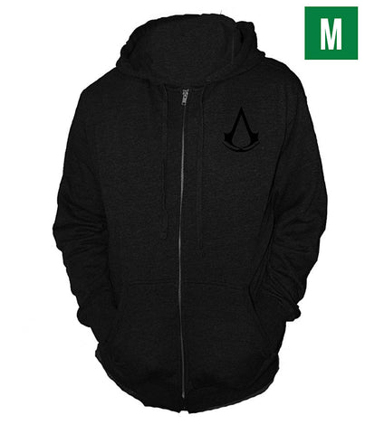Ubisoft Unisex - Assassin s Creed III - Connor Run Hoodie - Medium Black (APPAREL) APPAREL Game