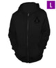 Ubisoft Unisex - Assassin s Creed III - Connor Run Hoodie - Large Black (APPAREL) APPAREL Game