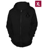 Ubisoft Unisex - Assassin s Creed III - Connor Run Hoodie - X-Large Black (APPAREL) APPAREL Game