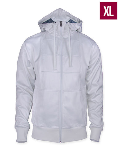 Ubisoft Unisex - Assassin s Creed - Connor Hoodie - X-Large White (APPAREL) APPAREL Game