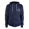 Ubisoft Unisex - Assassin s Creed III - Aveline Hoodie - Medium Navy Blue (APPAREL) APPAREL Game