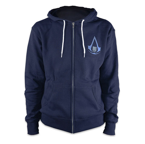 Ubisoft Unisex - Assassin s Creed III - Aveline Hoodie - X-Large Navy Blue (APPAREL) APPAREL Game