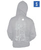 Ubisoft Unisex - Assassin s Creed - Wolves Hoodie - Small Grey (APPAREL) APPAREL Game