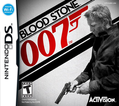 James Bond 007 - Blood Stone (French Version Only) (DS) DS Game