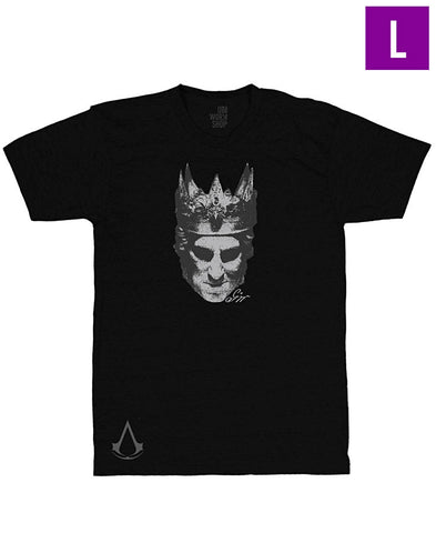 Ubisoft Unisex - Assassin s Creed III - The Tyranny of King George Washington T-shirt - Large Black (APPAREL) APPAREL Game