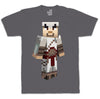 Ubisoft Unisex - Minecraft - Altair T-Shirt - Medium Charcoal (APPAREL) APPAREL Game