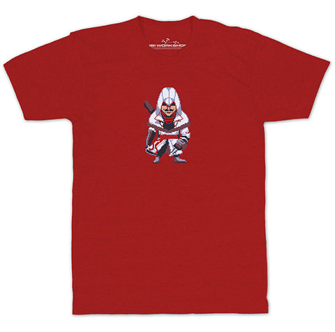 Ubisoft Unisex - Assassin s Creed - Army Of Trolls Nikolai Orelov T-Shirt - Large Red (APPAREL) APPAREL Game