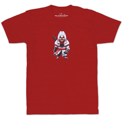Ubisoft Unisex - Assassin s Creed - Army Of Trolls Nikolai Orelov T-Shirt - XX-Large Red (APPAREL) APPAREL Game