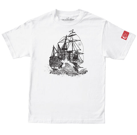 Ubisoft Unisex - Assassin s Creed - Singapore T-Shirt - Medium White (APPAREL) APPAREL Game