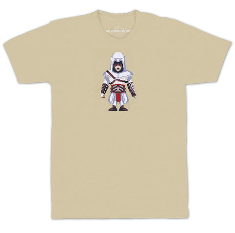 Ubisoft Unisex - Assassin s Creed - Army Of Trolls Altair Ibn-La Ahad T-Shirt - Medium Sand (APPAREL) APPAREL Game