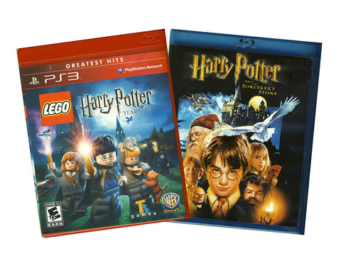 LEGO Harry Potter - Years 1-4 (Bonus Harry Potter and the Sorcerer's Stone Blu-ray) (PLAYSTATION3) PLAYSTATION3 Game