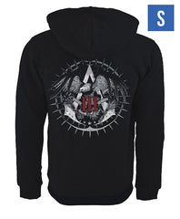 Ubisoft Unisex - Assassin's Creed III - Official Team Hoodie - Small Black (APPAREL)