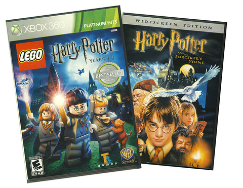 LEGO Harry Potter - Years 1-4 (Bonus Bonus Harry Potter and the Sorcerer's Stone DVD) (XBOX360) XBOX360 Game