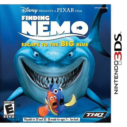 Finding Nemo - Escape To The Big Blue (Special Edition) (Bilingual Cover) (3DS) 3DS Game