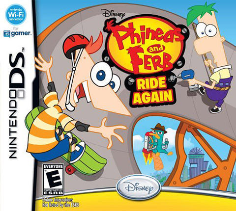 Phineas and Ferb - Ride Again (Bilingual Cover) (DS) DS Game
