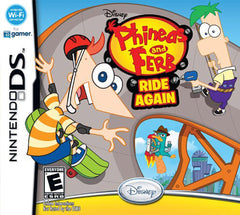 Phineas and Ferb - Ride Again (Bilingual Cover) (DS)