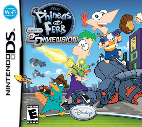 Phineas and Ferb - Across the 2nd Dimension (Bilingual Cover) (DS) DS Game
