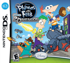 Phineas and Ferb - Across the 2nd Dimension (Bilingual Cover) (DS)