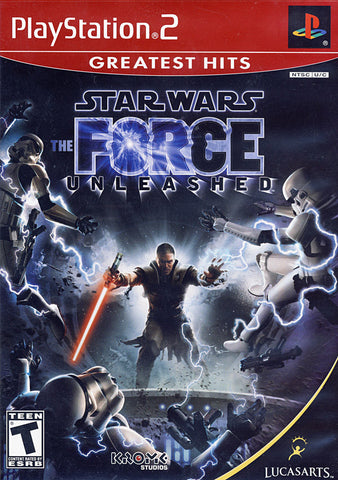 Star Wars - The Force Unleashed (PLAYSTATION2) PLAYSTATION2 Game