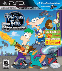 Phineas and Ferb - Across the 2nd Dimension (Playstation Move) (Bilingual Cover) (PLAYSTATION3)