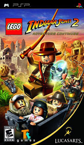 LEGO Indiana Jones 2 - The Adventure Continues (PSP) PSP Game