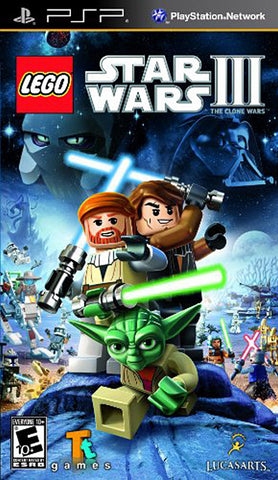 LEGO Star Wars III - The Clone Wars (PSP) PSP Game