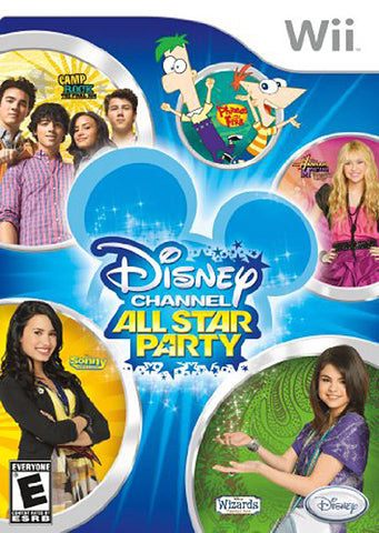 Disney Channel - All Star Party (NINTENDO WII) NINTENDO WII Game