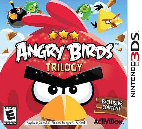 Angry Birds - Trilogy (Bilingual Cover) (3DS) 3DS Game