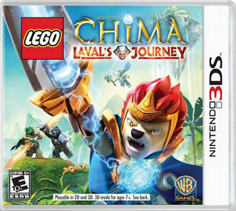 LEGO Legends of Chima - Laval s Journey (Trilingual Cover) (3DS) 3DS Game