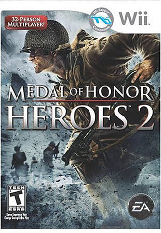 Medal of Honor - Heroes 2 (Wii Zapper compatible) (NINTENDO WII) NINTENDO WII Game