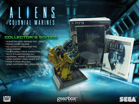 Aliens Colonial - Marines (Collector s Edition) (PLAYSTATION3) PLAYSTATION3 Game