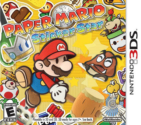 Paper Mario - Sticker Star (3DS) 3DS Game