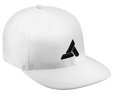 Ubisoft - Assassin Creed - Abstergo Cap Flex Fit - Large/X-Large White (APPAREL) APPAREL Game