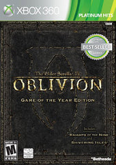 The Elder Scrolls IV (4) - Oblivion (Game of the Year Edition) (XBOX360)