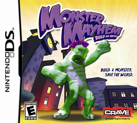 Monster Mayhem - Build and Battle (DS) DS Game
