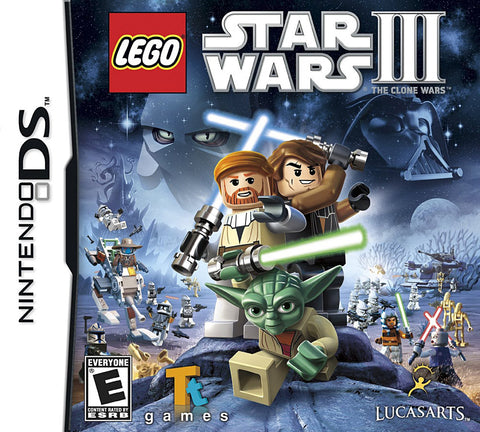 Lego Star Wars III (3) - The Clone Wars (DS) DS Game