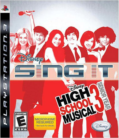 Sing It! High School Musical 3 - Senior Year (Game Only) (PLAYSTATION3) PLAYSTATION3 Game