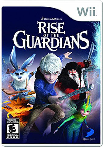 Rise of the Guardians (Trilingual Cover) (NINTENDO WII) NINTENDO WII Game