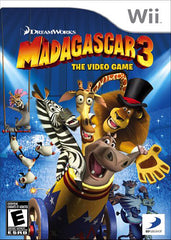 Madagascar 3 - The Video Game (Trilingual Cover) (NINTENDO WII)