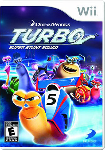 Turbo - Super Stunt Squad (Trilingual Cover) (NINTENDO WII) NINTENDO WII Game