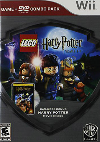LEGO Harry Potter: Years 1-4 - Silver Shield Combo Pack (NINTENDO WII) NINTENDO WII Game