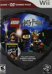 LEGO Harry Potter: Years 1-4 - Silver Shield Combo Pack (NINTENDO WII)